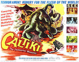 Caltiki The Immortal Monster - 1959 - Movie Poster