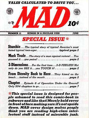 MAD Magazine #12 - June 1954 - Cover Magnet