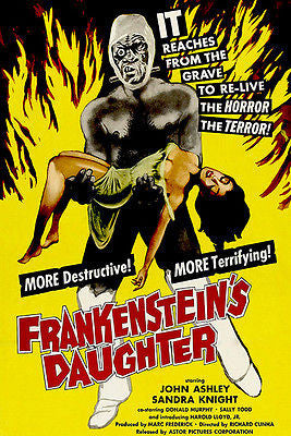 Frankenstein's Daughter - 1958 - Movie Poster