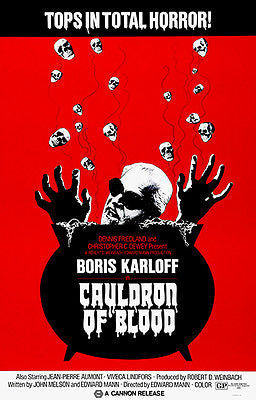 Cauldron of Blood - 1970 - Movie Poster
