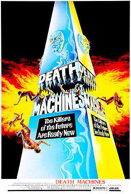 Death Machines - 1976 - Movie Poster