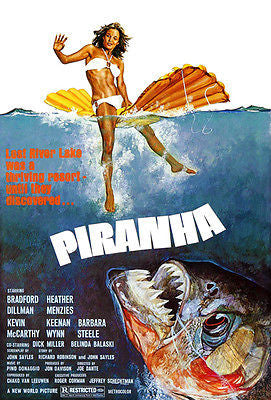 Piranha - 1978 - Movie Poster