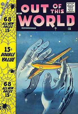 Out of This World #8 - Comic Book Cover Magnet