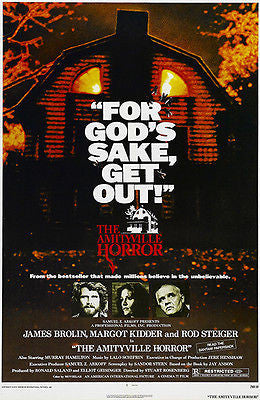 The Amityville Horror - 1979 - Movie Poster