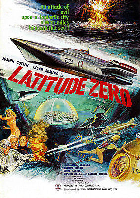 Latitude Zero - 1969 - Movie Poster