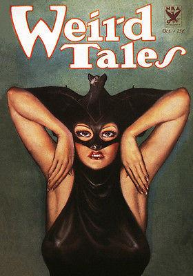 Weird Tales - October 1933 - Magazine Cover Magnet