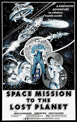 Space Mission To The Lost Planet - 1970 - Movie Poster