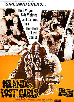 Island of Lost Girls - 1969 - Movie Poster
