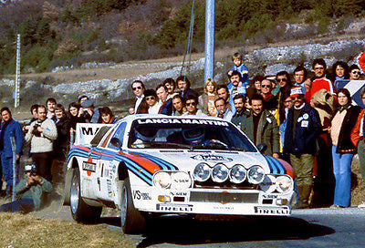 1983 Lancia Abarth 151 at Monte Carlo Rally - Photo Poster