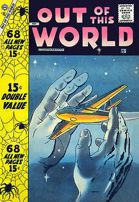 Out of This World #8 - Comic Book Cover Poster