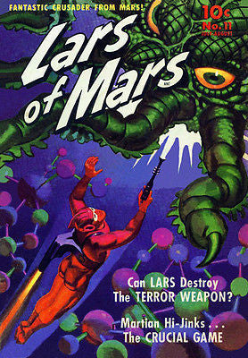 Lars of Mars #11 - July 1951 - Comic Book Cover Poster