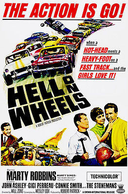 Hell on Wheels - 1967 - Movie Poster