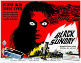 Black Sunday - 1960 - Movie Poster