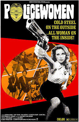 Policewomen - 1974 - Movie Poster