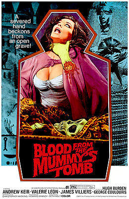 Blood From The Mummy's Tomb - 1971 - Movie Poster