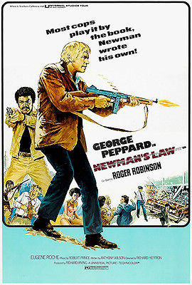 Newman's Law - 1974 - Movie Poster