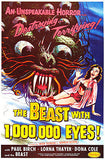 The Beast With 1,000,000 Eyes - 1955 - Movie Poster