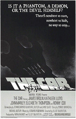 The Car - 1977 - Movie Poster