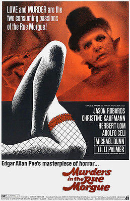 Murders In The Rue Morgue - 1971 - Movie Poster
