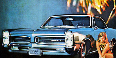 1966 Pontiac Le Mans - Promotional Advertising Poster