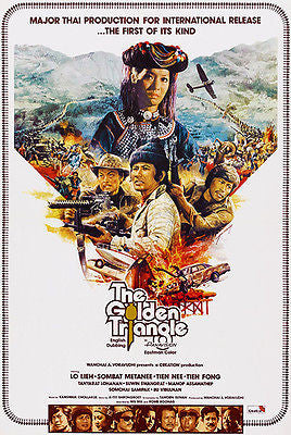 The Golden Triangle - 1975 - Movie Poster