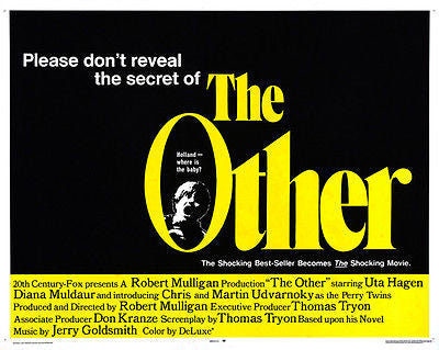 The Other - 1972 - Movie Poster