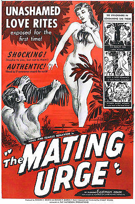 The Mating Urge - 1959 - Movie Poster