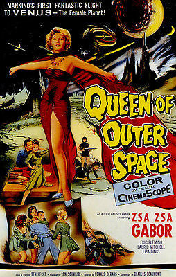 Queen of Outer Space - 1958 - Movie Poster