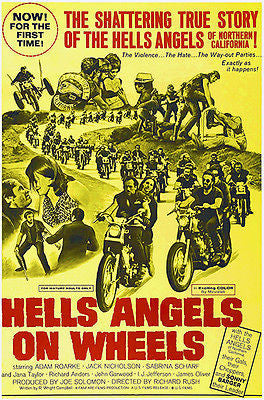 Hells Angels on Wheels - 1967 - Movie Poster