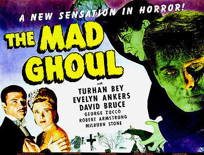 The Mad Ghoul - 1943 - Movie Poster