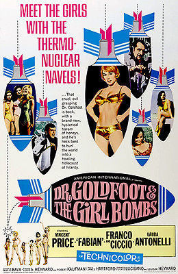 Dr. Goldfoot & The Girl Bombs - 1966 - Movie Poster