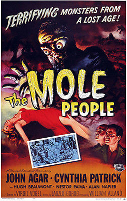 The Mole People - 1956 - Movie Poster