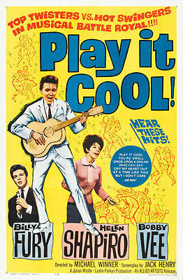 Play It Cool! - 1962 - Movie Poster