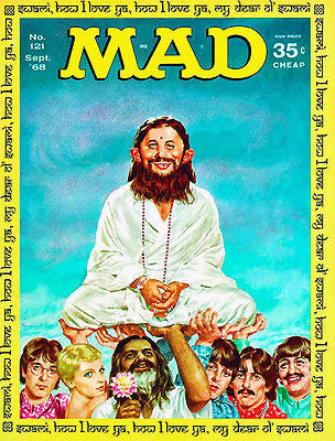 MAD Magazine #121 - September 1968 - Cover Poster