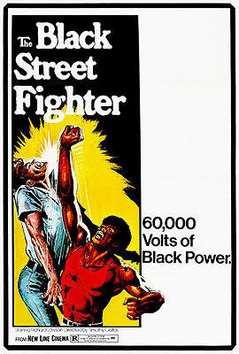 The Black Street Fighter - 1975 - Movie Poster