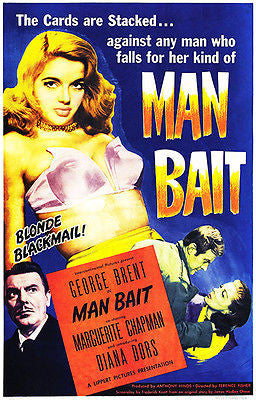 Man Bait - 1952 - Movie Poster