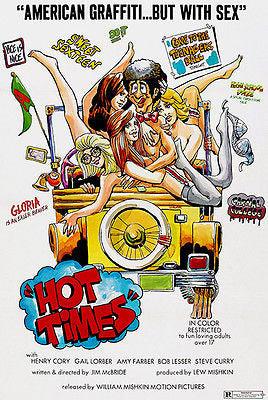 Hot Times - 1974 - Movie Poster