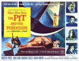 The Pit and the Pendulum - 1961 - Movie Poster