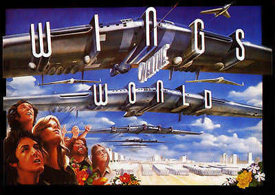 Wings Over The World - 1979 - Concert Movie Poster