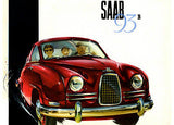 1958 Saab 93 B - Promotional Advertising Poster