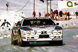 1982 Lancia Abarth Rally Car - Promotional Race Magnet