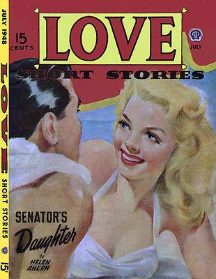 Love Short Stories - July 1948 - Comic Book Cover Magnet