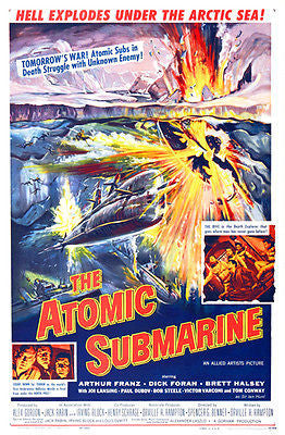 The Atomic Submarine - 1959 - Movie Poster