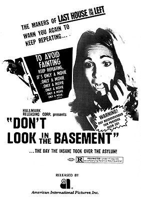 Don't Look In The Basement - 1973 - Movie Poster