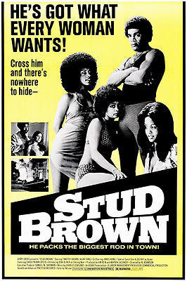 Stud Brown - 1975 - Movie Poster