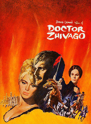 Doctor Zhivago - 1965 - Movie Poster