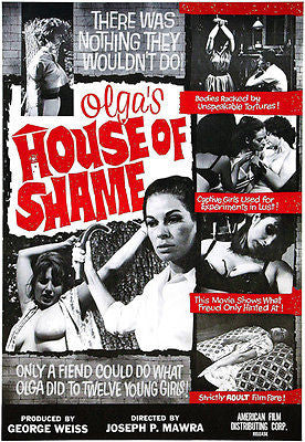 Olga's House Of Shame - 1964 - Movie Poster