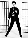 Elvis Presley in Jailhouse Rock - 1957 - Movie Still Poster