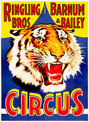 Ringling Brothers and Barnum & Bailey - Circus Show Poster