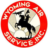 1930 Wyoming Air Service, Inc - Promotional Advertising Mug